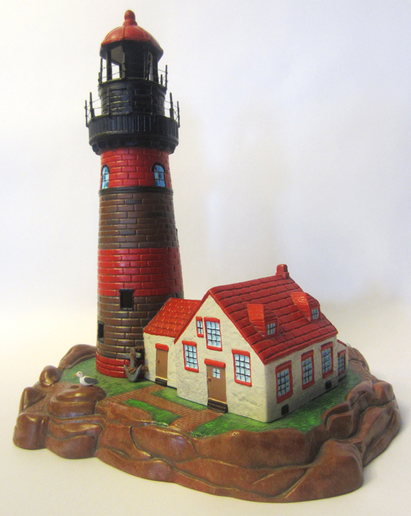 Lighthouse sculpture for auction