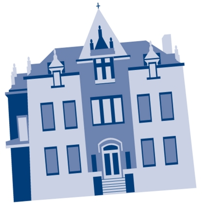 Rendering of the historic mansion