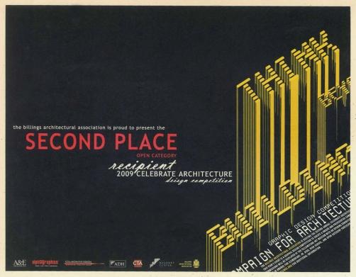 Second in Celebrate Architecture design competition