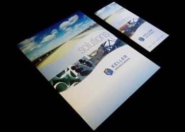 Marketing folder and brochure