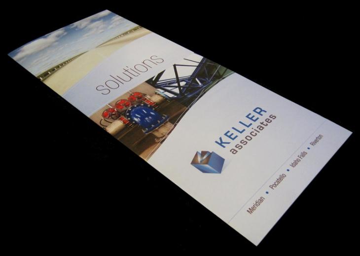 Marketing tri-fold brochure