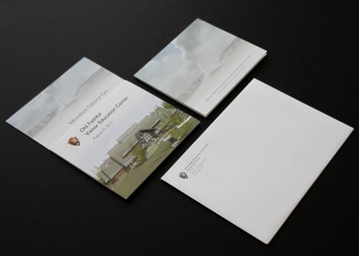 Invitation card, RSVP card and envelope